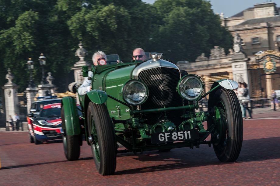 Old Number Three - 1930 Bentley Speed-Six Vanden Plas Open Tourer