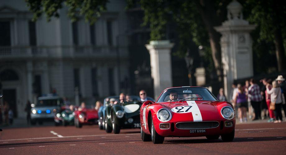 1964 Ferrari 250 Pininfarina Le Mans Berlinetta driven by Paul Stewart