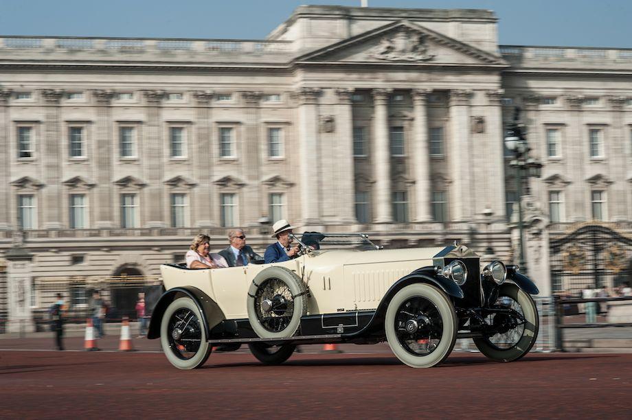 1914 Rolls-Royce Silver Ghost Vanden Plas Torpedo Grande Luxe