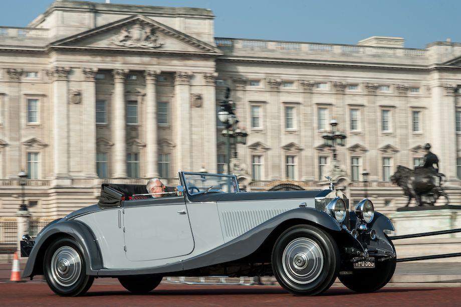 1932 Rolls-Royce Phantom II Continental Freestone and Webb Drophead Coupé