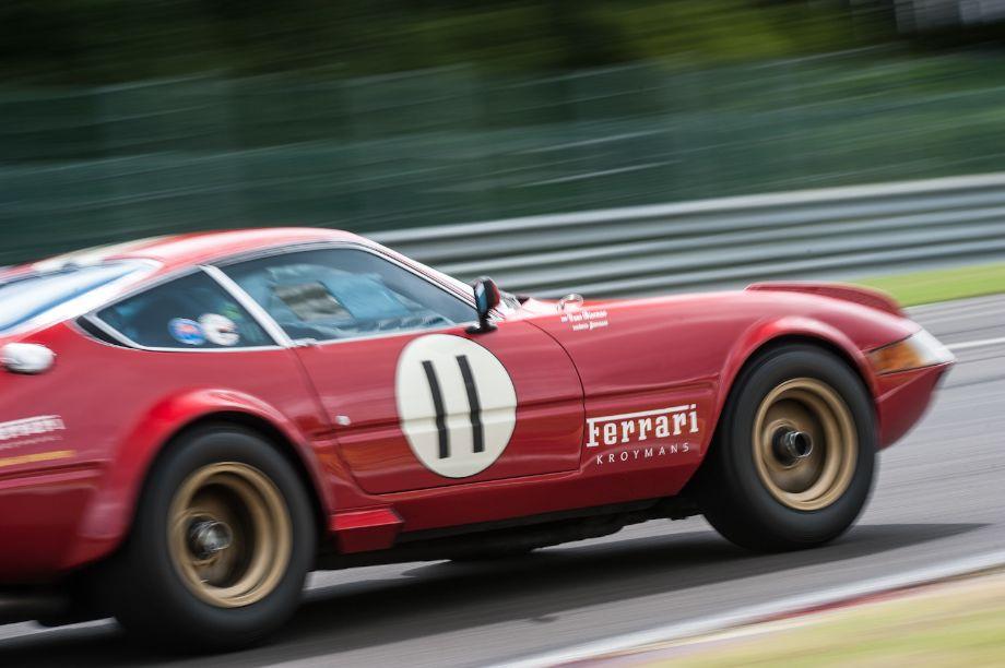 Ferrari 365 GTB/4 Daytona Competizione at Modena Trackdays (photo: Julien Mahiels)
