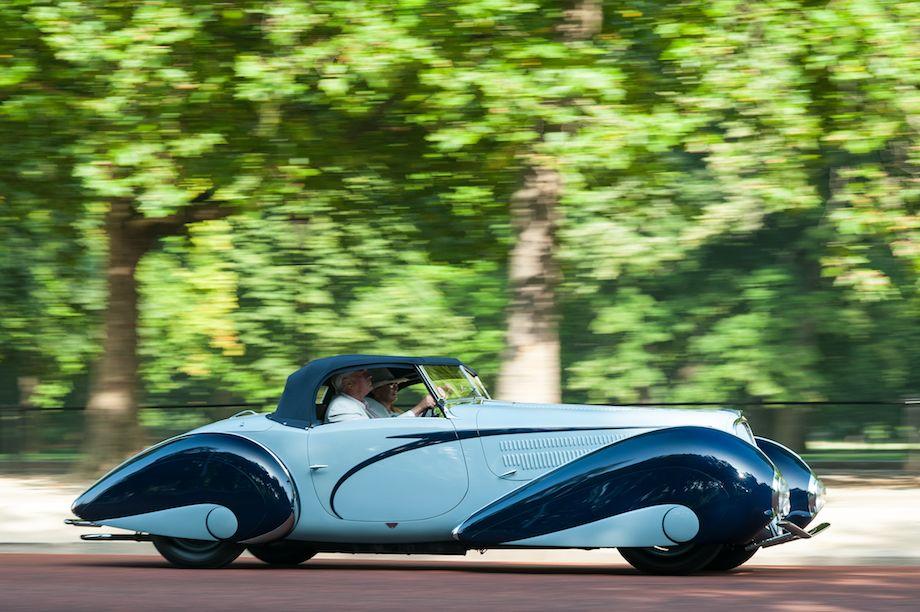 1937 Delahaye 135M Figoni et Falaschi Torpedo Cabriolet