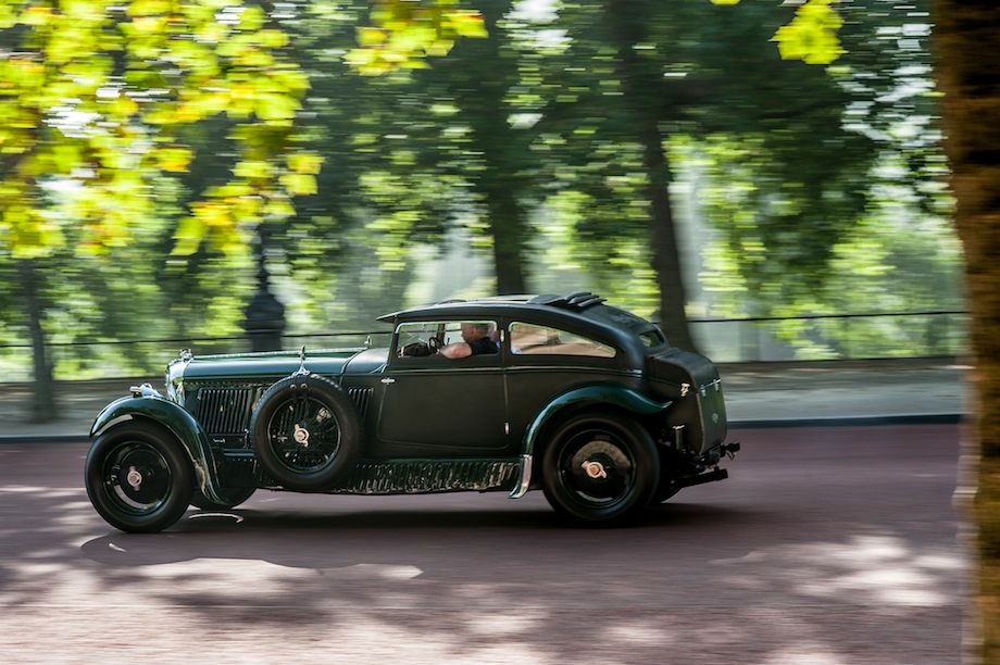 1930 Bentley Speed-Six Gurney Nutting Sportsman Coupe