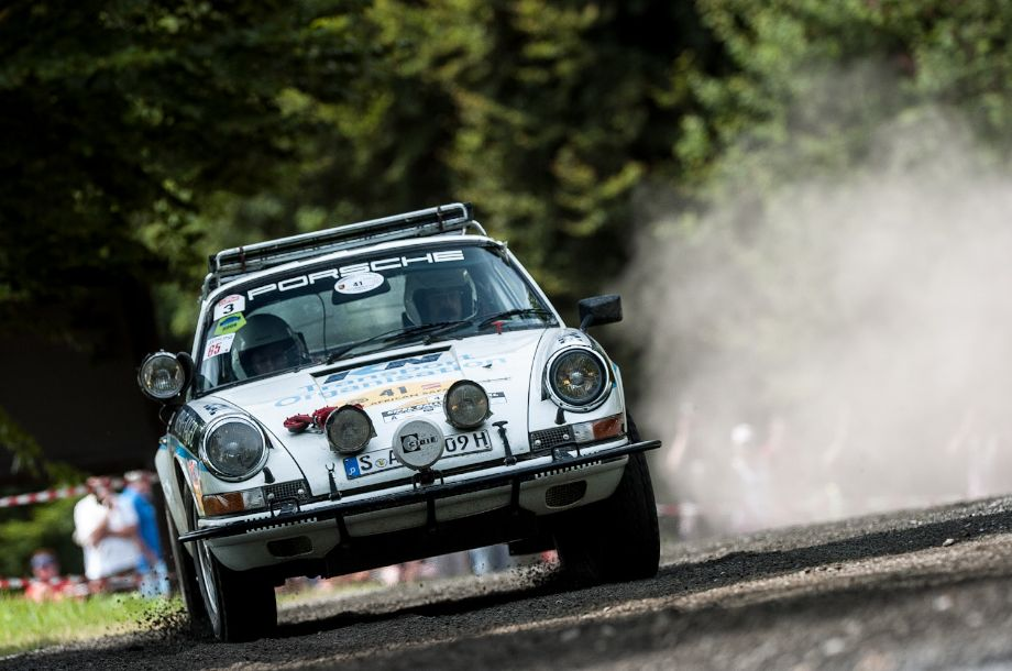 Porsche 911 Carrera RS that ran the Safari Rally in 1973 and 1974