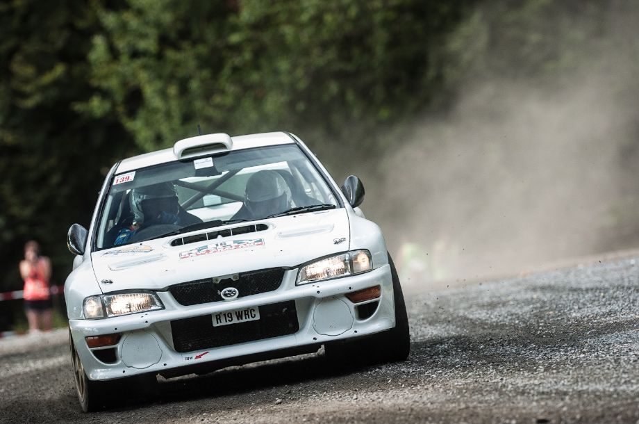 Subaru Impreza WRC was driven to victory at the 1998 Portugal Rally by Colin McRae