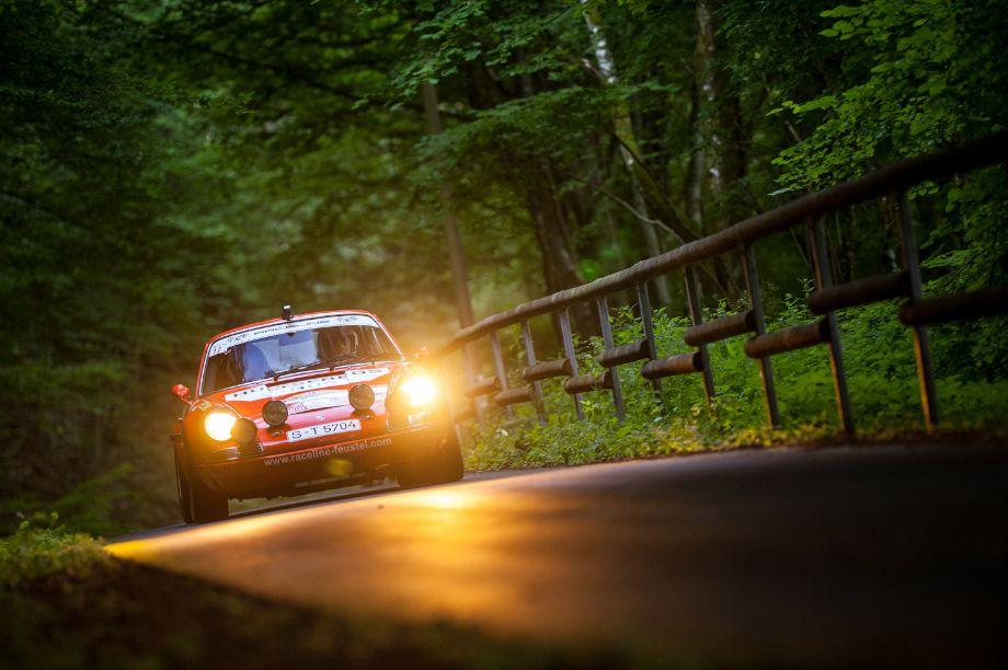 Another Eifel Rallye Festival Participant - 1970 Porsche 911S that won the Monte Carlo Rally at the hands of Bjorn Waldegard (photo: Julien Mahiels)