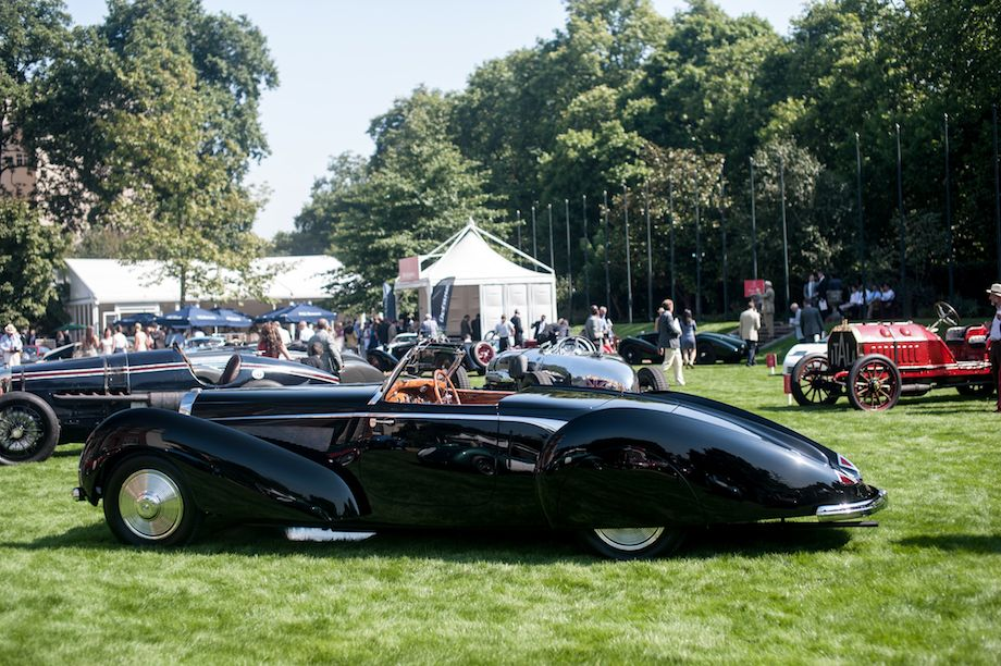 1939 Bugatti Type 57C Voll and Ruhrbeck Roadster