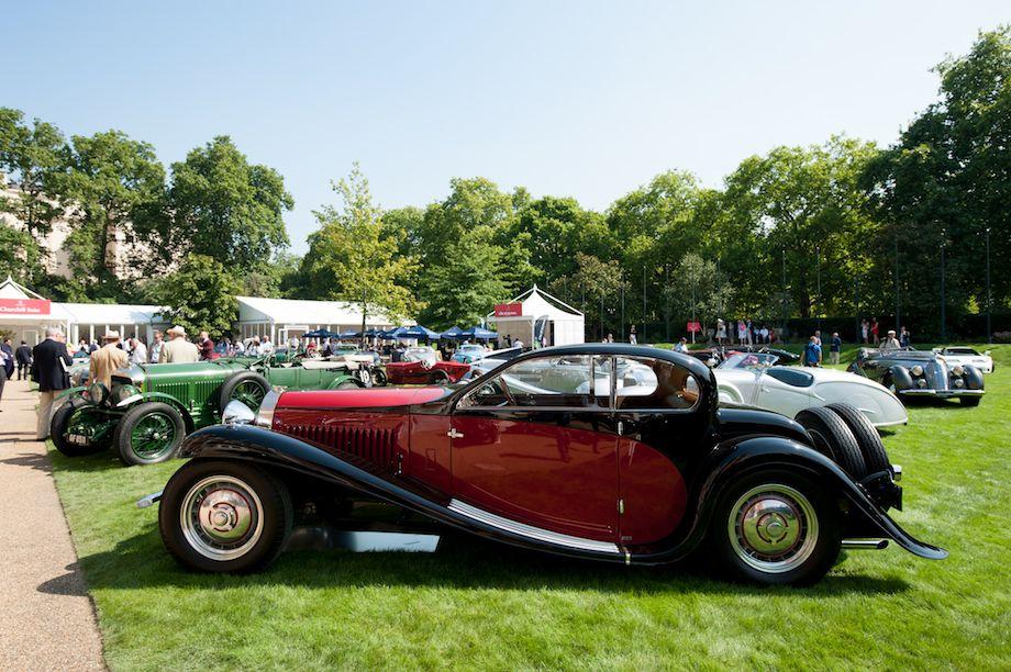 1932 Bugatti Type 50T Coach Profilee