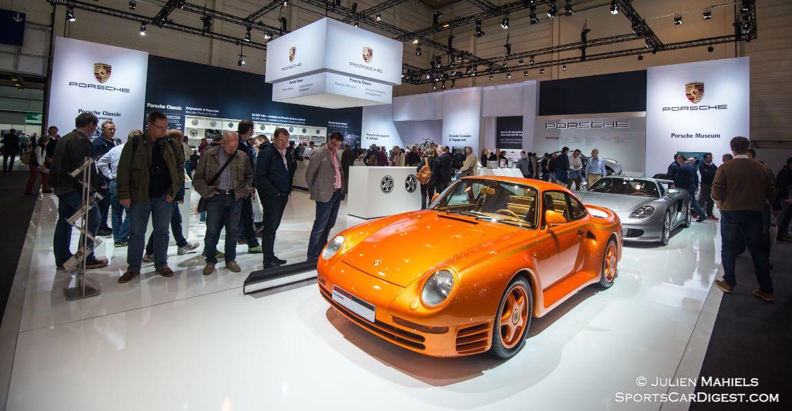 Porsche 959 and Carrera GT