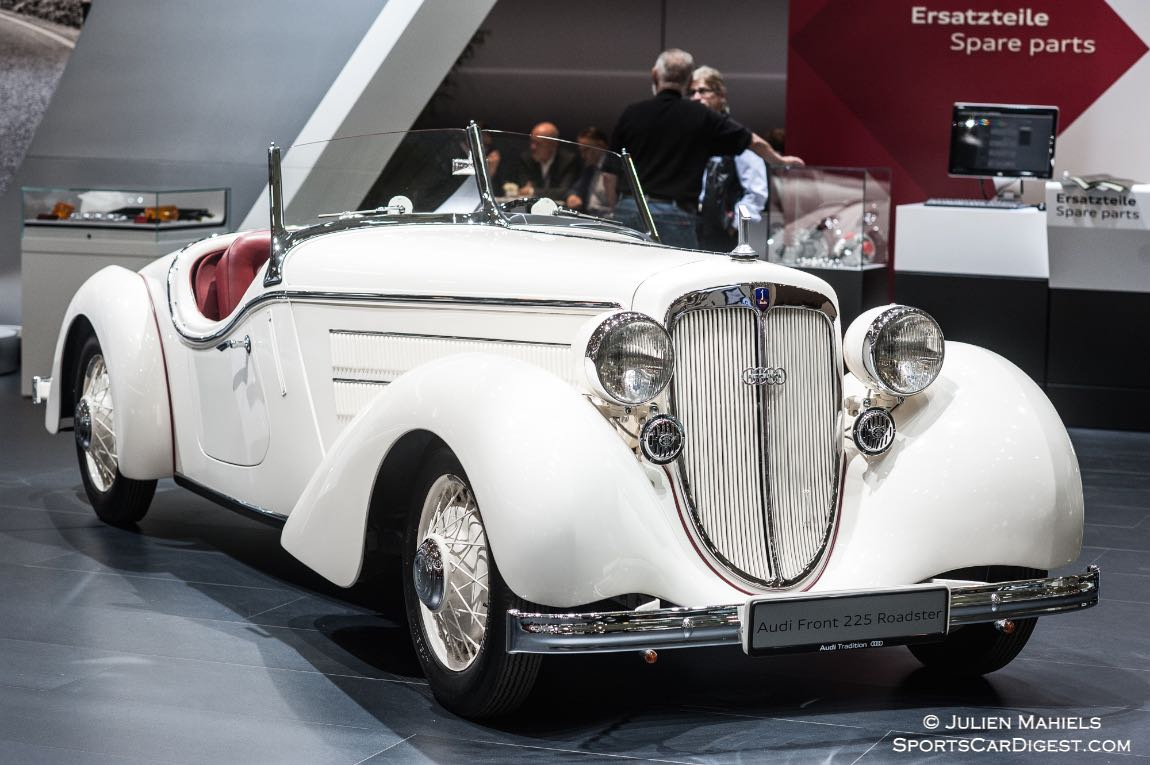 1937 Audi Front 225 Roadster was never made into production