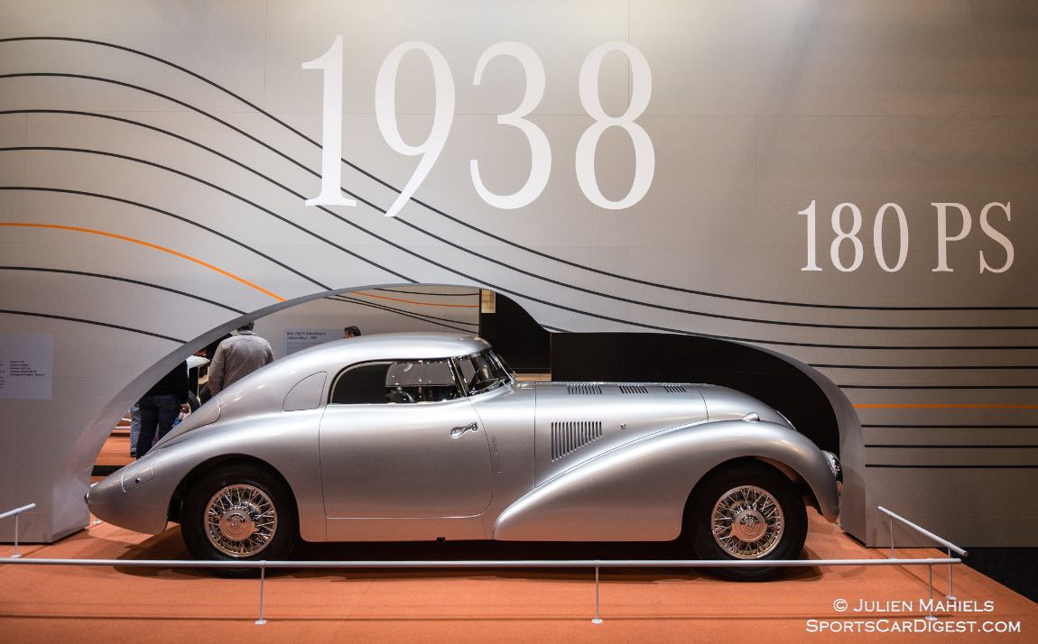 1938 Mercedes-Benz 540 K Streamliner W 29