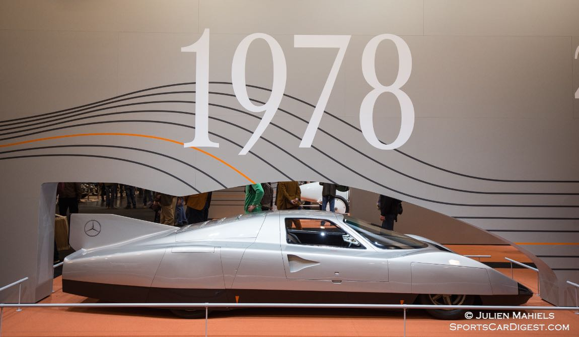 1978 Mercedes-Benz C 111-III set nine world records, including an average speed of 319 km/h over 1,000 miles