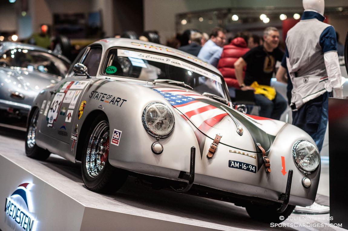 Porsche 356 prepared for Carrera Panamericana