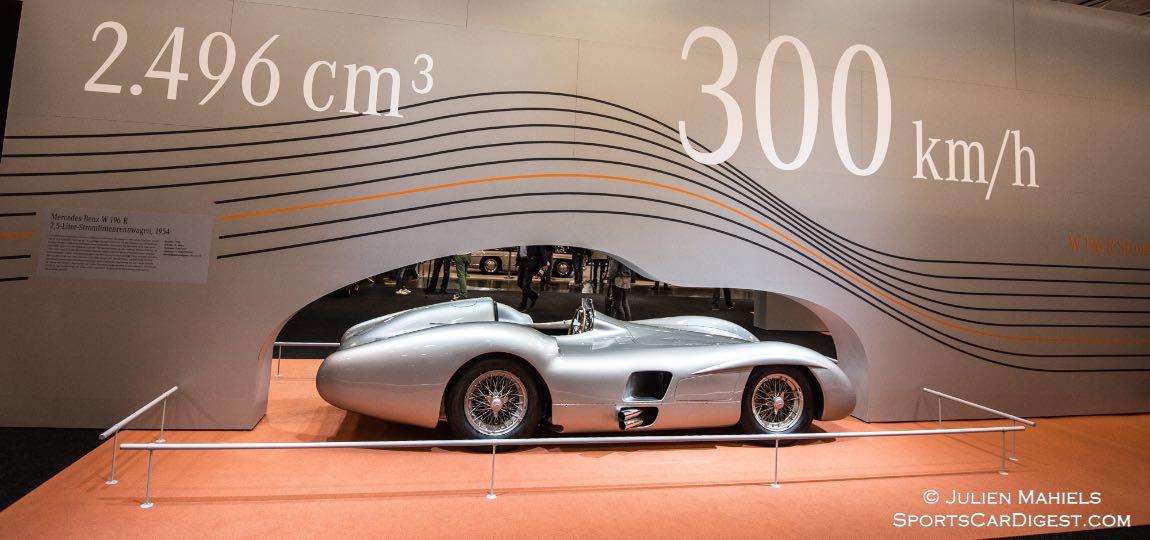 1954 Mercedes-Benz W 196 R Streamliner