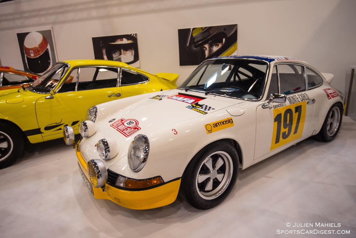 1973 Porsche 911 2.7 RS raced in period at the Tour de France and Monte Carlo rallies