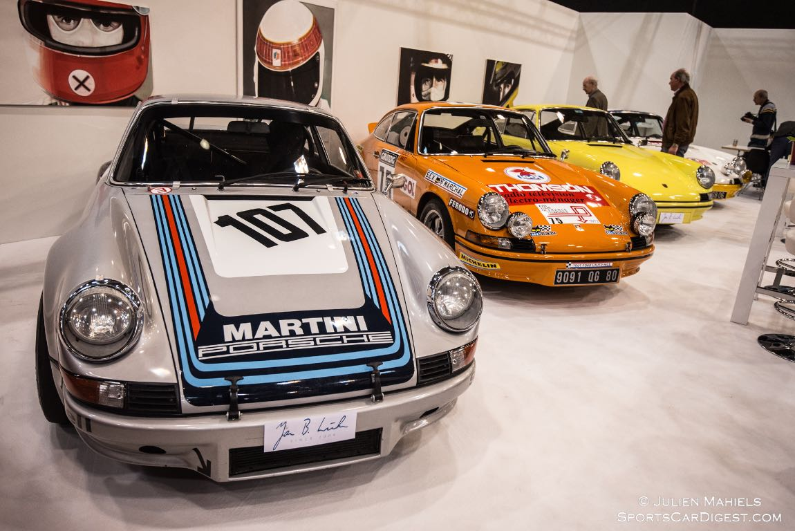 Wonderful selection of Porsche 911 Carrera RS on display