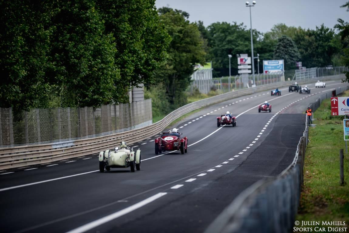 Pre-War Class at Le Mans Classic 2014