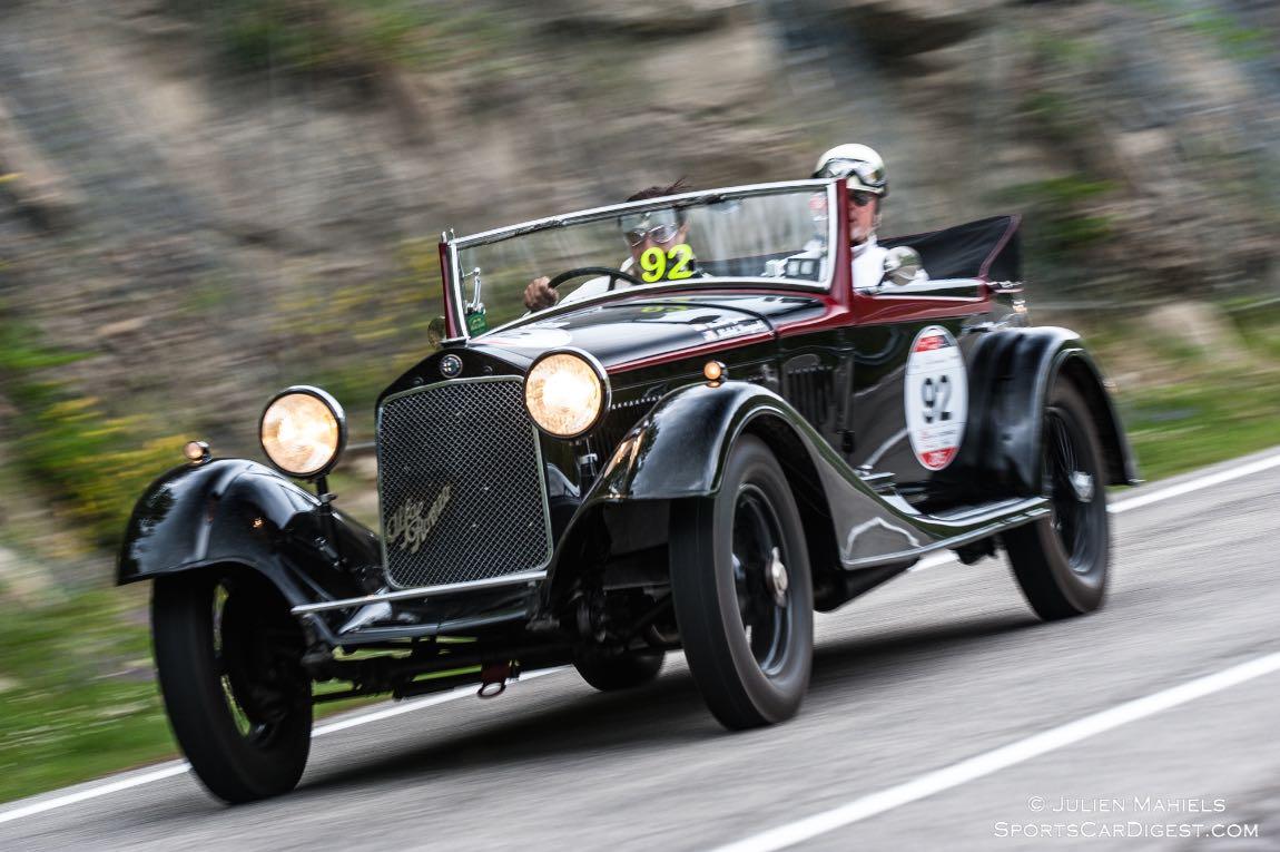 1933 Alfa Romeo 6C 1750 GT Cabriolet Castagna
