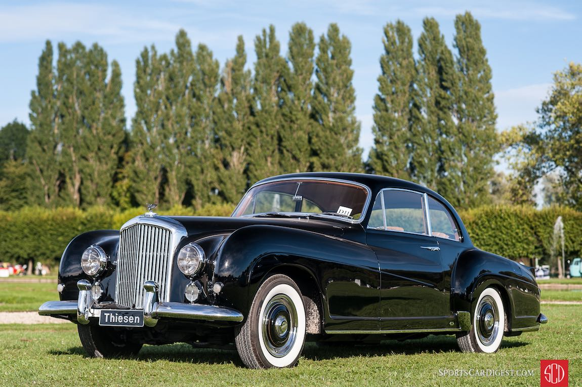 1955 Bentley Type R Continental Coupe Franay