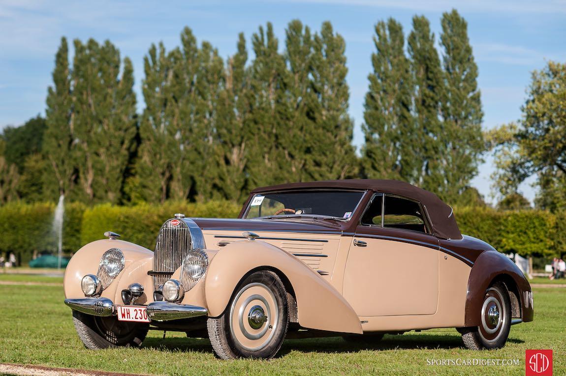 1939 Bugatti Type 57 C Aravis Letourneur and Marchand