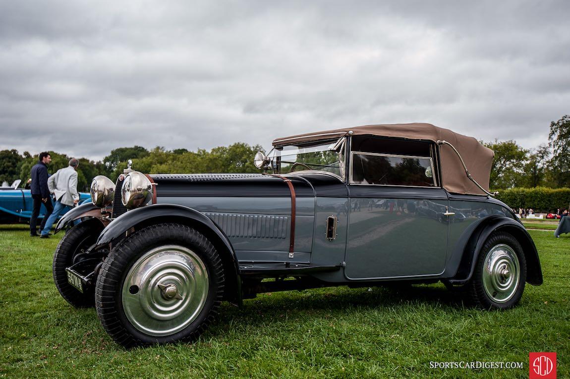 1928 Bugatti Type 38 Figoni Cabriolet