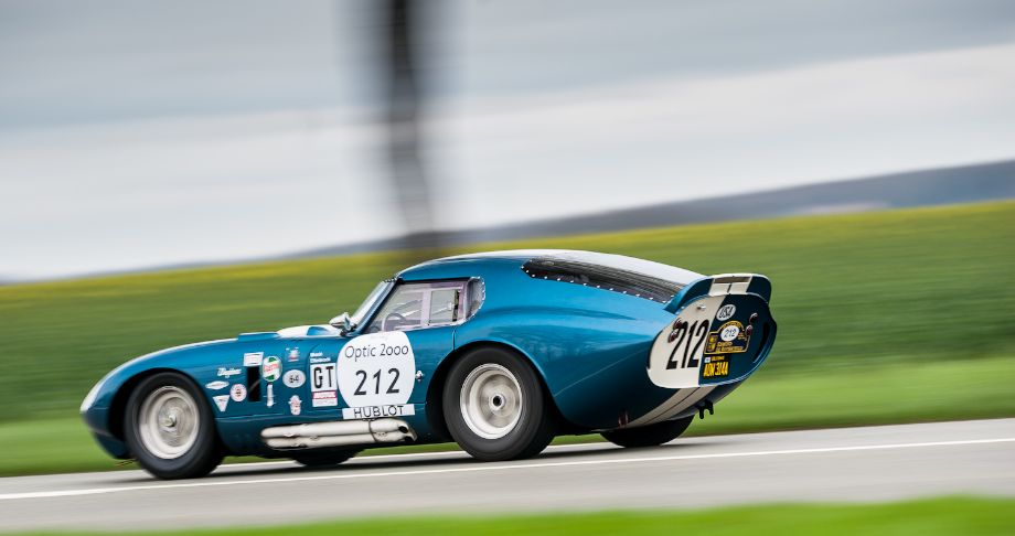 1964 Shelby Daytona Cobra Coupe at 2013 Tour Auto Rally