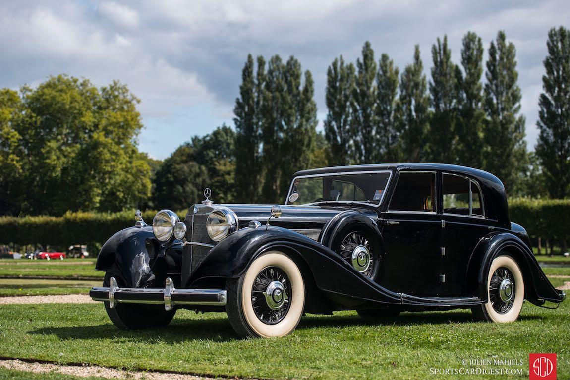 1938 Mercedes-Benz 540K Sedan W29