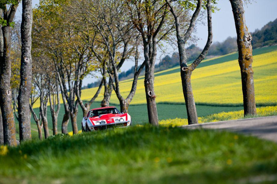 Chevrolet Corvette on Tour Auto Rally