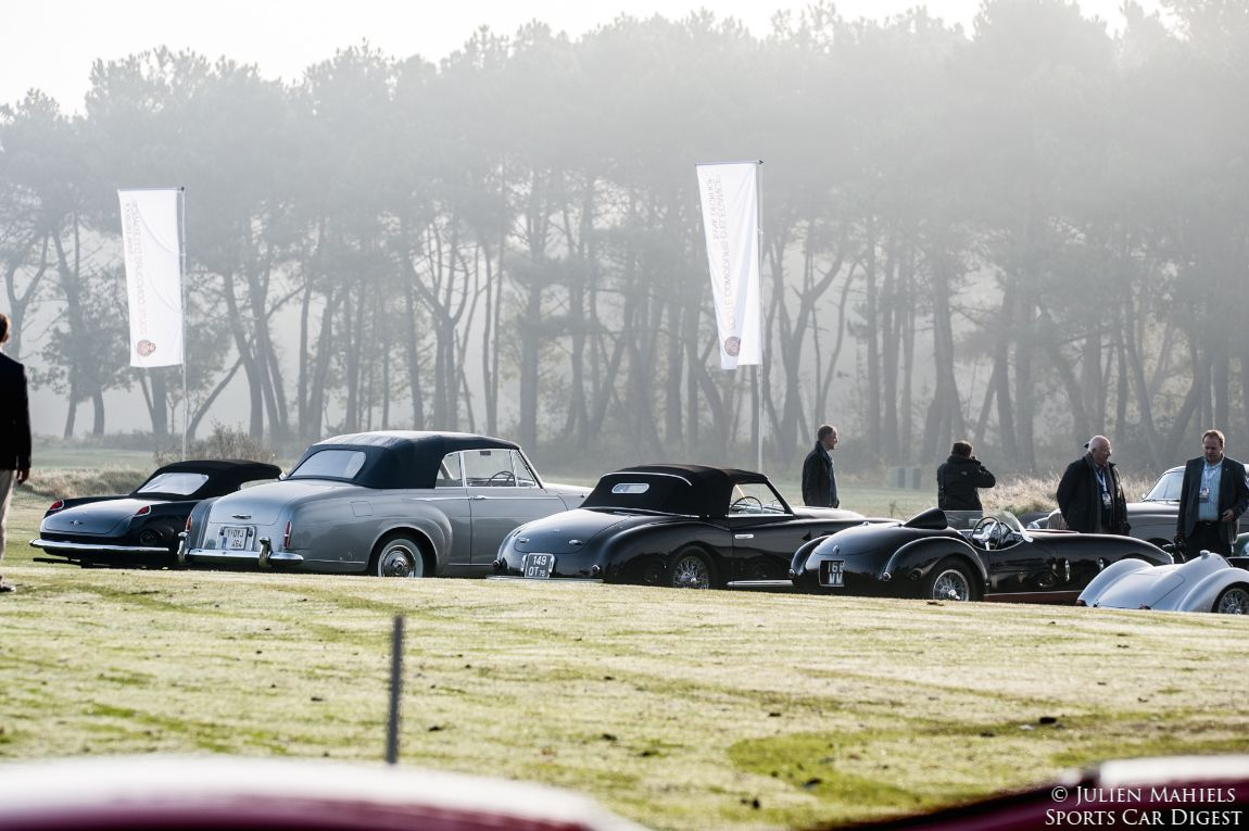 Post War Open Class at Zoute Concours