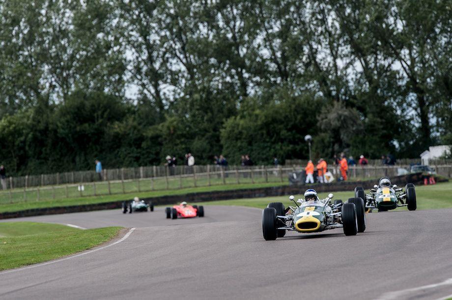 Lotus 38 driven by Dario Franchitti