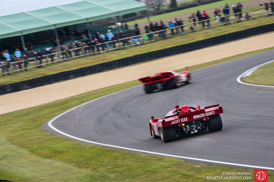Pair of Ferrari 512 models