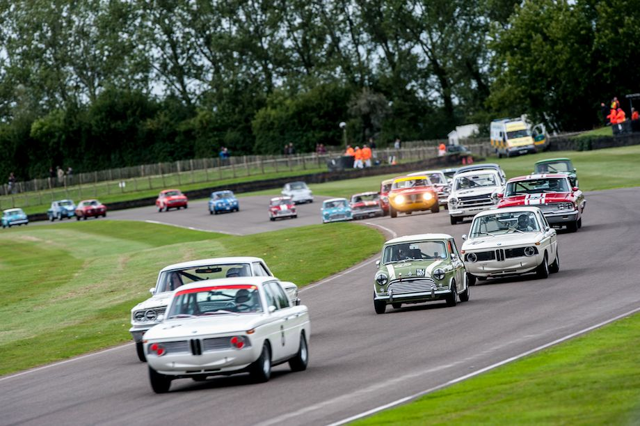 BMW 1800 leads St. Mary's Trophy Race for pre-1966 saloon cars