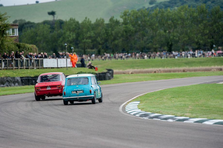 Alfa Romeo GTA and Morris Mini Cooper S