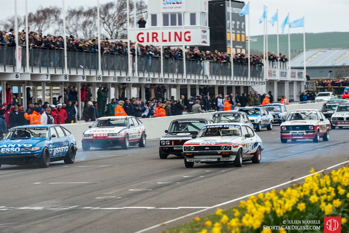 Start of the Gerry Marshall Trophy - 2016 Goodwood Members Meeting