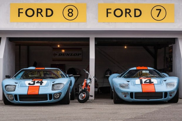 Gulf Ford GT40 at 2013 Goodwood Revival