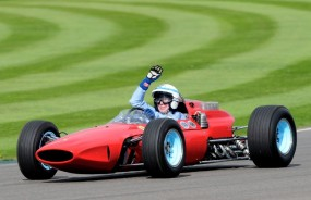 John Surtees won F1 World Championship in this Ferrari 158