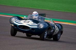 Jaguar D-Type at Spa Six Hours