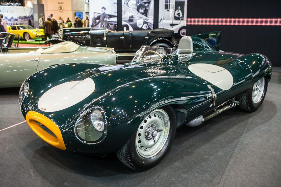 Jaguar D-Type - Fiskens stand