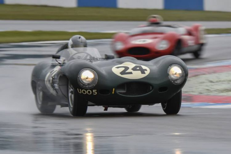 Jaguar D-type Stirling Moss Trophy (photo: JD Classics)