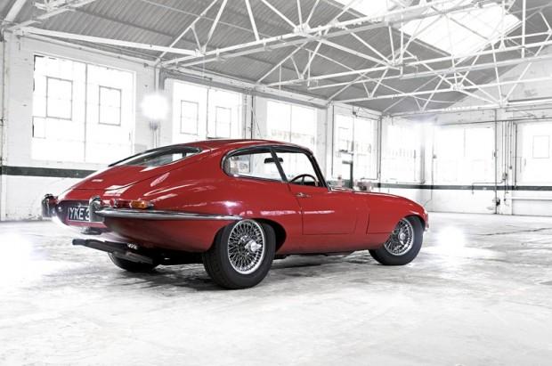 Jaguar E-type Coupe Rear