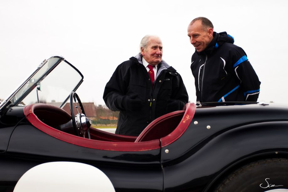 Norman Dewis with Andy Wallace
