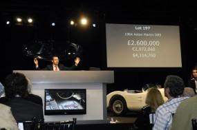 James Bond Aston Martin DB5 Sold