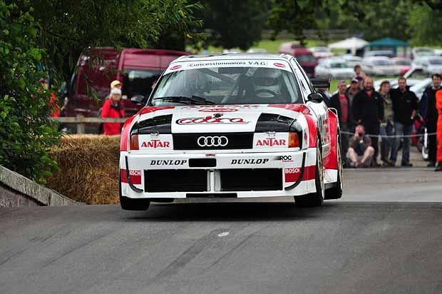 Jan van Nierop leaps to 2nd overall in his 1989 Audi 80