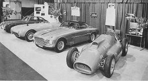 Ferrari Stand at the 1954 New York Auto Show