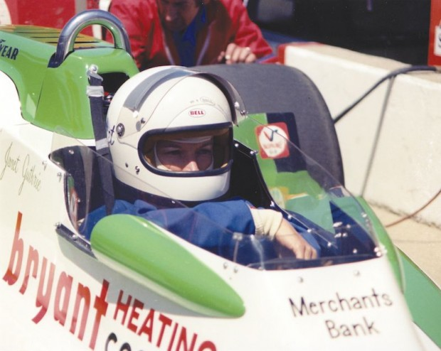 Janet Guthrie at Indy, 1977