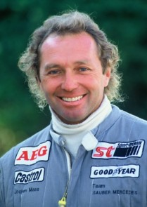 Jochen Mass will be honored at the 2014 Amelia Island Concours