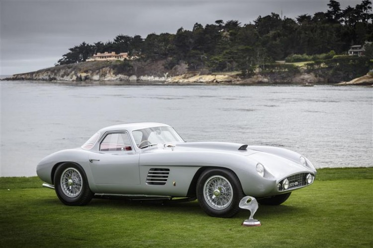 Best of Show 2014 winner: Jon Shirley's 1954 Ferrari 375 MM Scaglietti Coupe (photo: Rolex / Tom O'Neal)