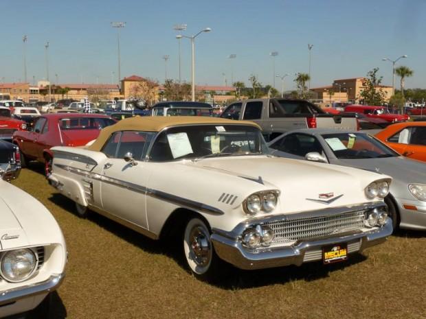 1958 Chevrolet Bel Air Convertible