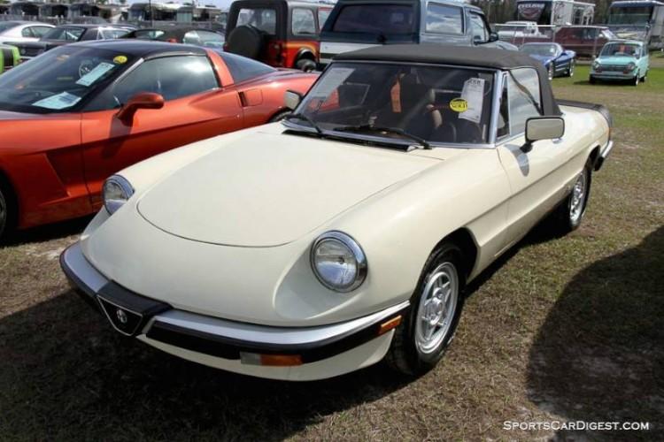 1983 Alfa Romeo 2000 Spider