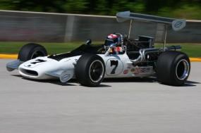 1969 Gurney Eagle driven by Formula 5000 Champion Tony Adamowicz